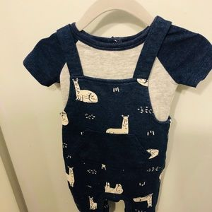 Baby Cat & Jack two piece jumper set